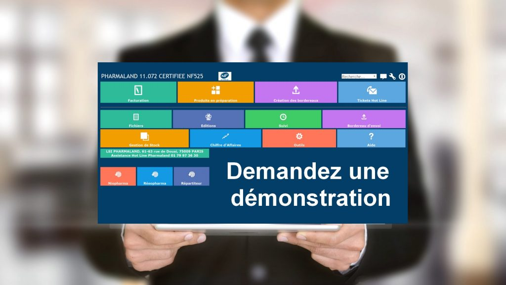 Bouton demande demonstration